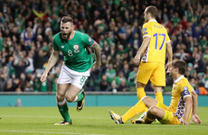 Daryl Murphy had the night of his life and scored after just 105 seconds against Moldova
