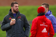 James Cronin back in full Munster training, but Kleyn still a doubt for Castres