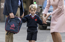 A woman who got access to Prince George's school has got a police caution