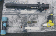 Police in Antrim find rocket launcher and 'terrorist related' tools