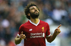'We have to fight' against Manchester United, says Liverpool's Mohamed Salah