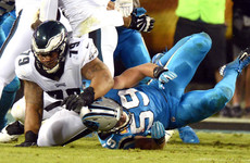 Philadelphia win again as another Kuechly concussion causes Carolina concern