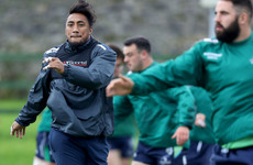 Aki left out while Deegan and Coulson come in for Connacht's European opener