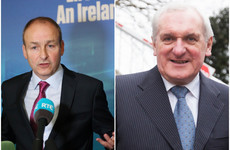 Micheál Martin says he hasn't changed his mind about Bertie Ahern rejoining Fianna Fáil