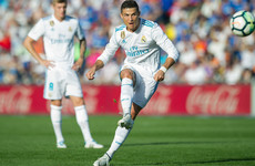 Ronaldo gets first La Liga goal of the season to earn Madrid a late win against Getafe