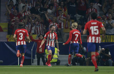 This superb strike was not enough to earn Atletico a win over Barcelona