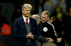Arsene Wenger fumes over 'scandalous' penalty