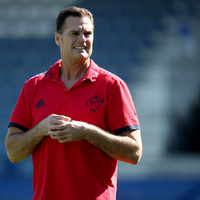 Rassie offers assurance that he'll work on as long as Munster need him