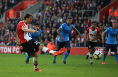 Gabbiadini brace earns Southampton a share of the spoils at St Marys'