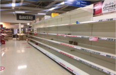 There were absolute scenes in Tesco stores around the country last night