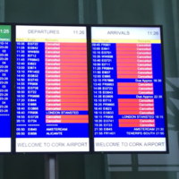Flight chaos and cancellations but some Irish airports defy 122 km/h winds to stay open