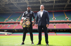 Anthony Joshua's opponent ruled out but world title bout will still go ahead