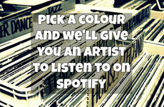 Pick A Colour And We'll Give You An Artist To Listen To On Spotify