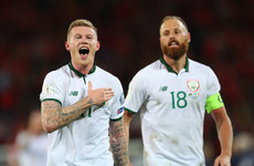 Ireland drawn with Denmark for 2018 World Cup play-off