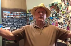 Alf Stewart congratulates Cork City on being the best team home and away