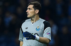 Spain legend Iker Casillas was controversially dropped by Porto last night