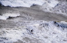 Storm Ophelia surfer: 'The picture makes the ocean look rough... but it wasn't really that significant'