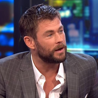 Chris Hemsworth was pretty unimpressed when a TV presenter revealed a Thor spoiler live on air