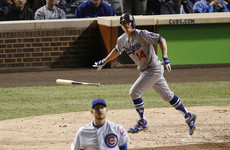 Dodgers demolish Cubs to reach first World Series since '88