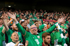 Ireland's World Cup play-off at home to Denmark is officially sold out