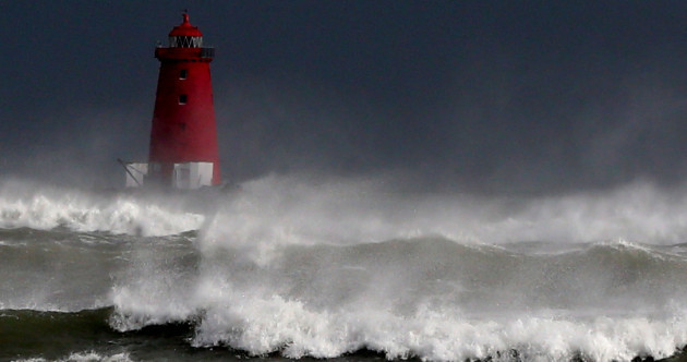 Limerick was amongst the hardest hit as Storm Brian made its way across the country