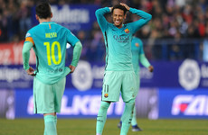 Neymar told teammates he was leaving Barcelona at Lionel Messi's wedding