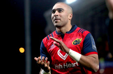 Simon Zebo to leave Munster at the end of the season