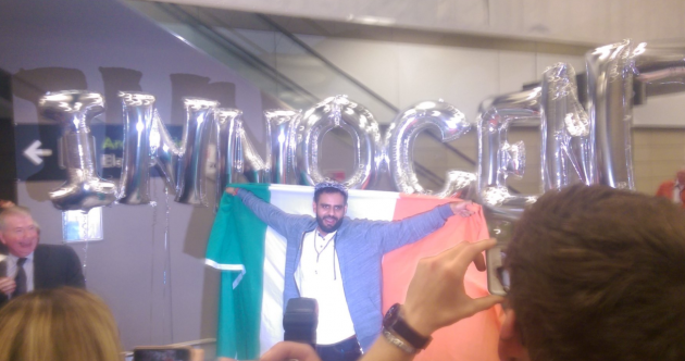 'I'm very happy, it's great': Ibrahim Halawa has arrived home to Dublin