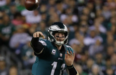Wentz soars as Eagles claim impressive win over Washington