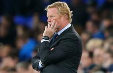 'Disappointed' Koeman bids farewell to Everton following sacking