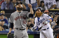 Dodgers scorch into World Series lead in gruelling heatwave-hit opener