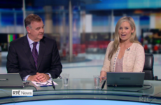 Sharon Ní Bheoláin got a bit teary paying tribute to Bryan Dobson on his last ever Six One