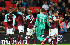 Stunning second-half comeback sees West Ham stun Spurs to reach last eight