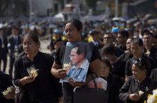 Funeral of beloved Thai king starts after a year of mourning
