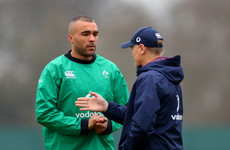 Zebo dropped from Ireland squad as Schmidt includes 4 uncapped players for November