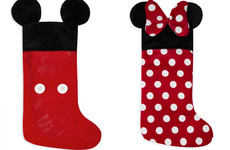 These matching Mickey and Minnie Mouse Christmas stockings from Penneys are just too cute