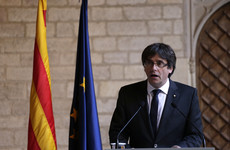Catalan leader cancels - then re-arranges - speech, says he won't call elections to ease crisis