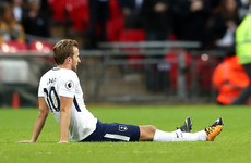 Major blow as Harry Kane officially ruled out of Tottenham's clash with Man United