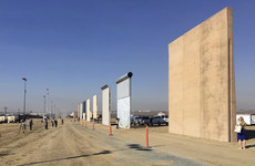 The first prototypes for Trump's Mexican wall have been unveiled - and here are the pics