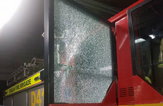 Dublin fire engine attacked when crew approached bonfire this evening