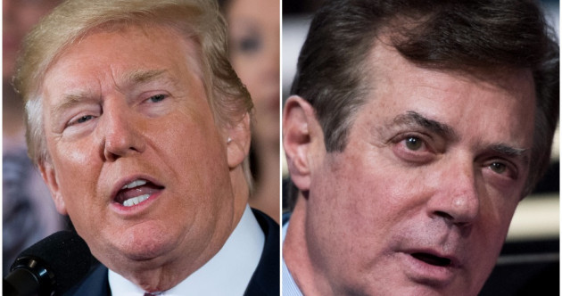 Trump's former campaign manager indicted while aide pleads guilty to lying on Russia links