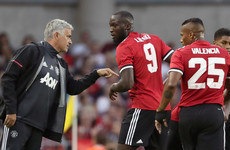 Mourinho: Lukaku is 'untouchable' in my Man Utd team