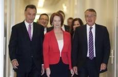 Australian prime minister Julia Gillard sees off leadership challenge