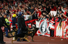 Arsenal escape punishment as Cologne fined €60,000 for fan trouble