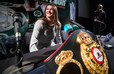 Katie Taylor will headline in England in December for her first world title defence
