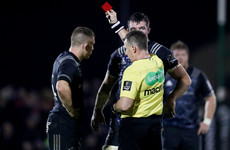 Munster's Andrew Conway facing suspension after Connacht red card
