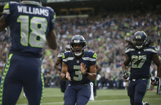 Seahawks fans were so loud during Seattle's comeback win that they registered as seismic activity