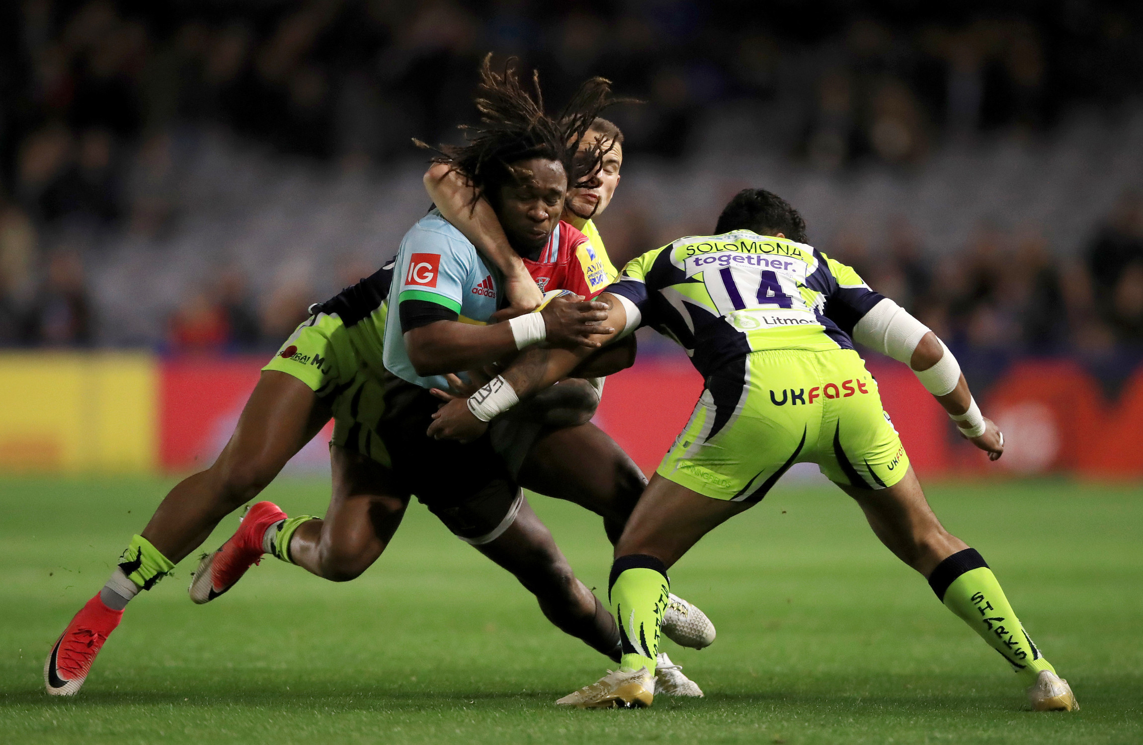Harlequins Announce Departure Of Winger Marland Yarde With Immediate Effect