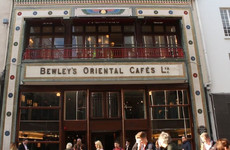 Bewley's Grafton Street opened its doors again today (just in time for elevenses)