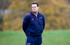 Three players released from Ireland camp for Erasmus' Munster farewell